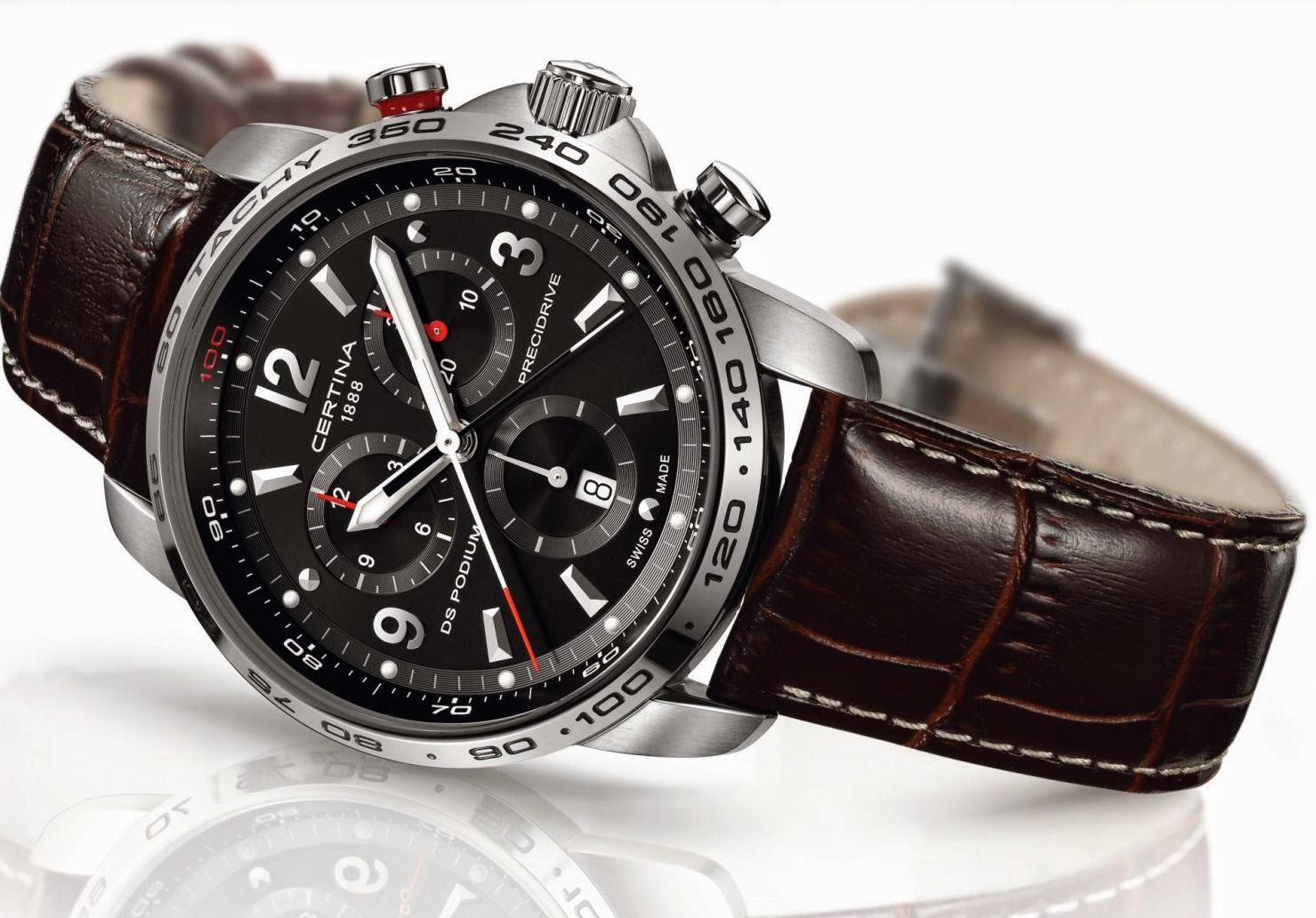 Швейцарские часы Certina, цена на официальном
